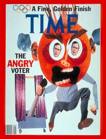 Time - Angry Voter - Mar. 2, 1992 - Society