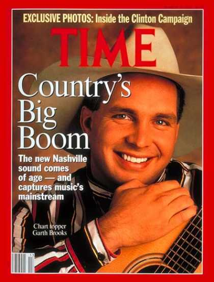 Time - Garth Brooks - Mar. 30, 1992 - Singers - Country Music - Most Popular - Music