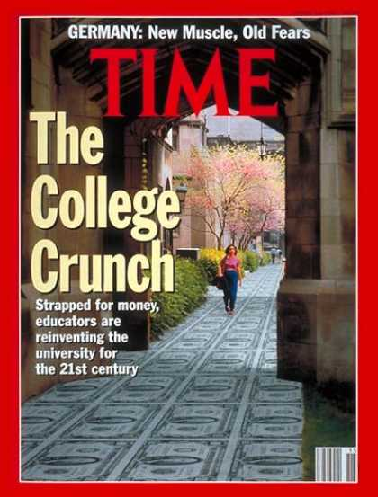 Time - High Cost of College - Apr. 13, 1992 - Schools - Tuition - Education - Colleges