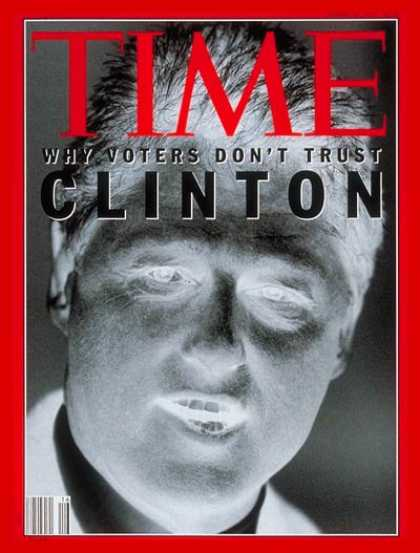Time - Bill Clinton - Apr. 20, 1992 - Presidential Elections - Governors - Arkansas - D