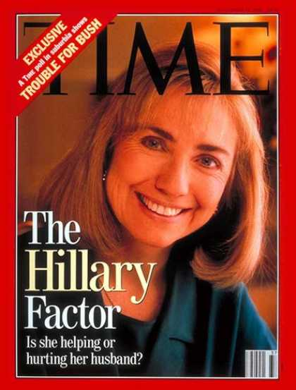 Time - Hillary Rodham Clinton - Sep. 14, 1992 - Hillary Clinton - Presidential Election