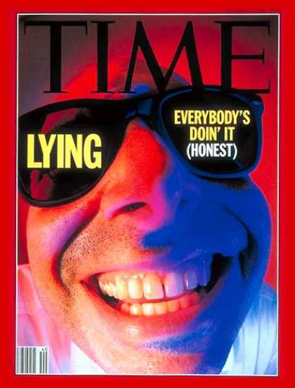 Time - Lying - Oct. 5, 1992 - Society