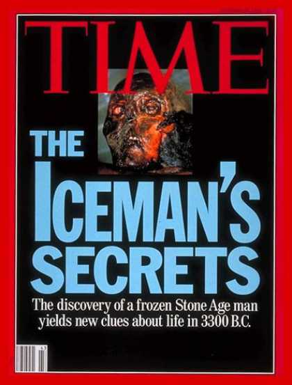 Time - Stone Age Man - Oct. 26, 1992 - Archaeology - Science & Technology
