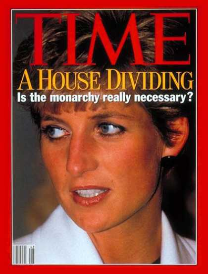 Time - A House Dividing - Nov. 30, 1992 - Royalty - Great Britain