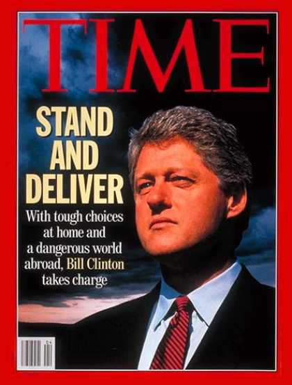 Time - Bill Clinton - Jan. 25, 1993 - U.S. Presidents - Politics