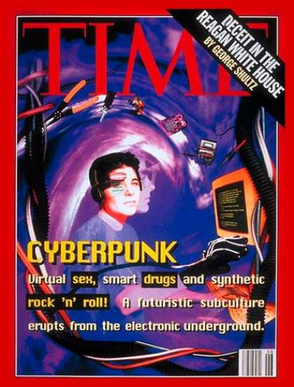 Time - Cyberpunk - Feb. 8, 1993 - Internet - Computers - Popular Culture - Science & Te