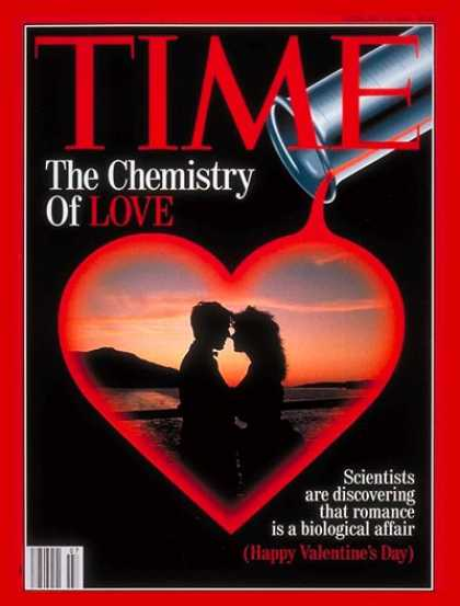 Time - Chemistry of Love - Feb. 15, 1993 - Family - Science & Technology