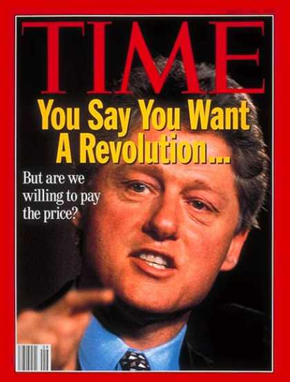 Time - Bill Clinton - Mar. 1, 1993 - U.S. Presidents - Politics