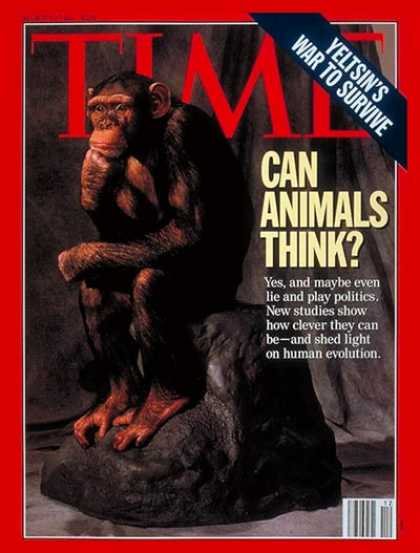 Time - Can Animals Think? - Mar. 22, 1993 - Animals - Science & Technology - Brain