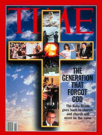 Time - Boomers at Church - Apr. 5, 1993 - Baby Boomers - Vietnam War - Religion - Socie