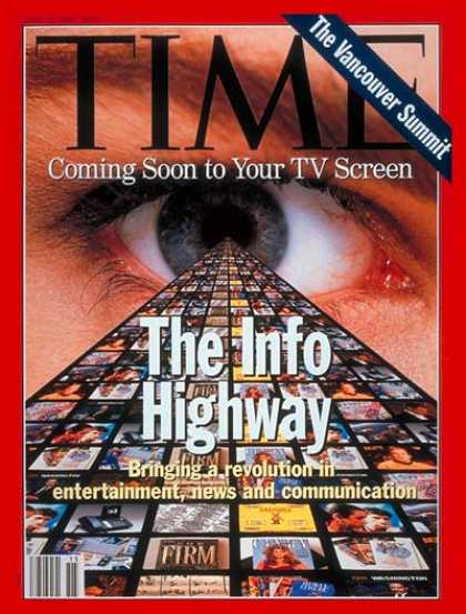 Time - Information Superhighway - Apr. 12, 1993 - Internet - Computers - Business - Soc
