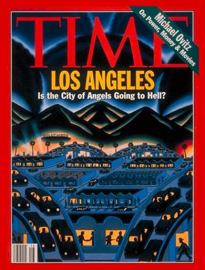 Time - Los Angeles - Apr. 19, 1993 - California