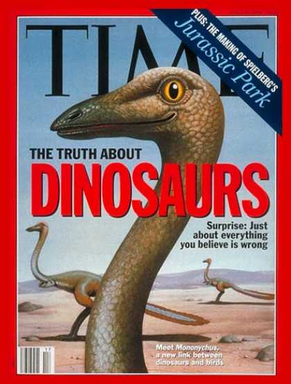 Time - Dinosaurs - Apr. 26, 1993 - Paleontology - Science & Technology