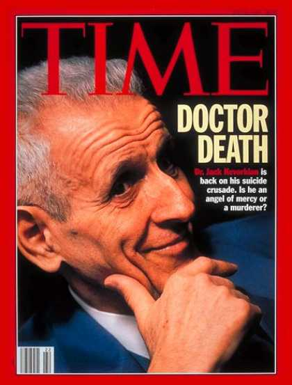Time - Dr. Jack Kevorkian - May 31, 1993 - Death - Euthanasia
