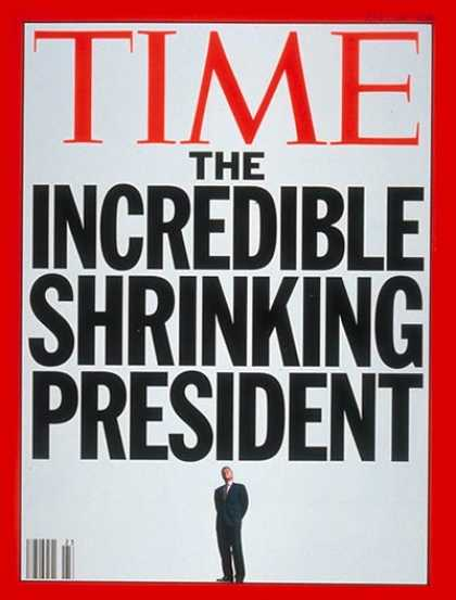 Time - Bill Clinton on the Decline - June 7, 1993 - Bill Clinton - U.S. Presidents - Po