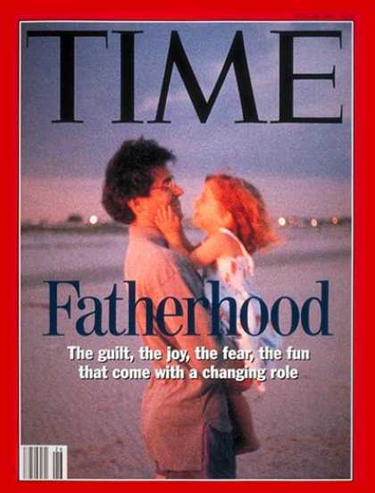 Time - Fatherhood - June 28, 1993 - Parenting - Family - Society