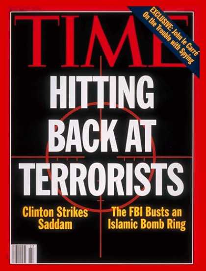 Time - Striking at Terrorism - July 5, 1993 - Terrorism