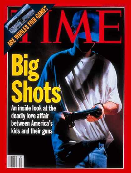 Time - Kids & Guns - Aug. 2, 1993 - Guns - Violence - Crime - Social Issues - Weapons -