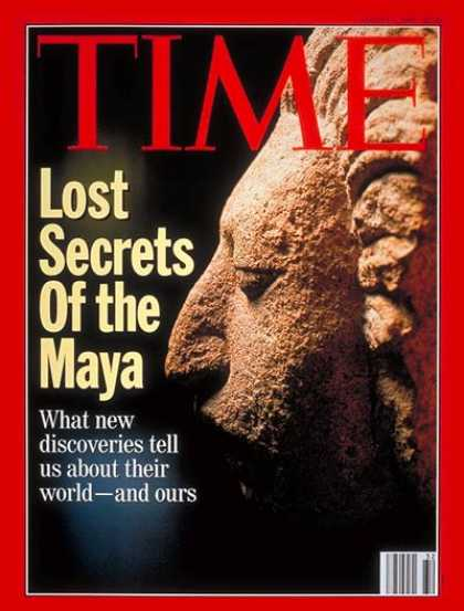 Time - Maya Culture - Aug. 9, 1993 - Latin America - History - Archaeology - Mexico