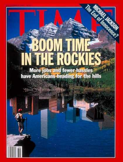 Time - Boom Time in the Rockies - Sep. 6, 1993 - Colorado - Business - Economy - Employ