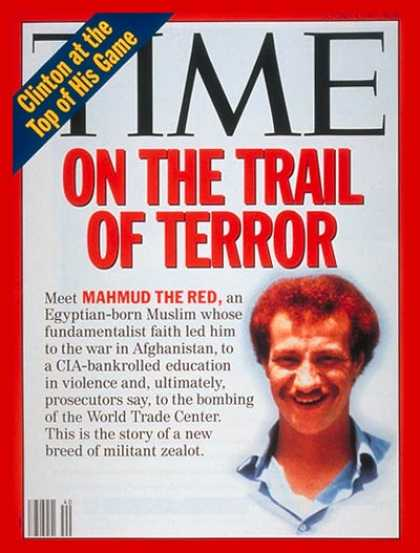Time - Muslim Militant Mahmud the Red - Oct. 4, 1993 - Religion