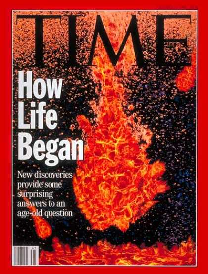Time - How Life Began - Oct. 11, 1993 - Evolution - Biology - Science & Technology