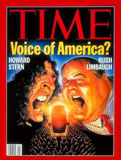Time - Howard Stern & Rush Limbaugh - Nov. 1, 1993 - Radio - Talk Shows - Rush Limbaugh
