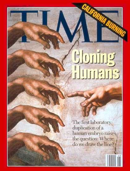 Time - Cloning Humans - Nov. 8, 1993 - Cloning - DNA - Health & Medicine