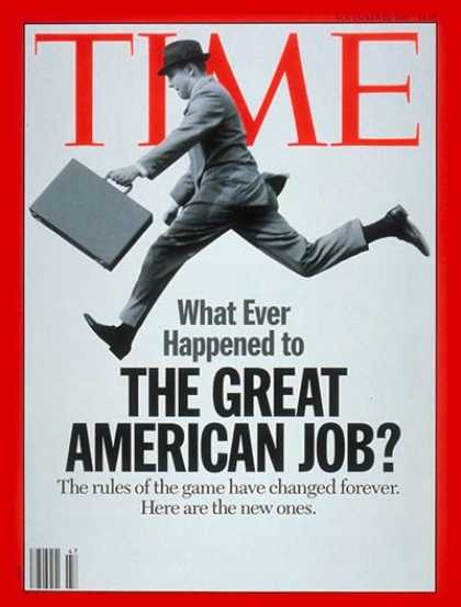 Time - A New Job Climate - Nov. 22, 1993 - Jobs - Economy - Business