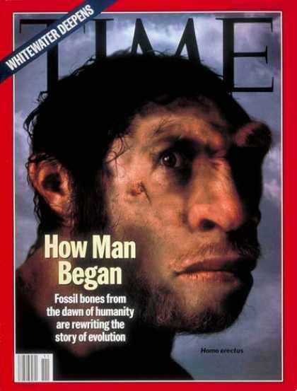 Time - Rewriting Evolution - Mar. 14, 1994 - Evolution - Science & Technology - History