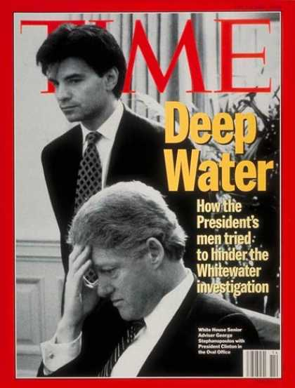 Time - Bill Clinton and George Stephanopoulos - Apr. 4, 1994 - Bill Clinton - U.S. Pres