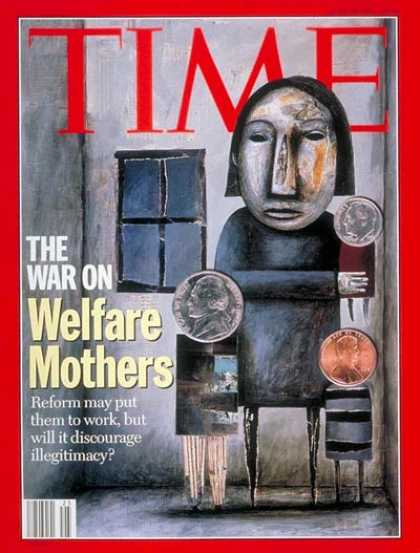 Time - Welfare Reform - June 20, 1994 - Society