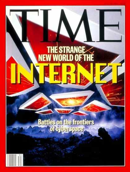 Time - The Internet - July 25, 1994 - Internet - Computers - Communications - Science &
