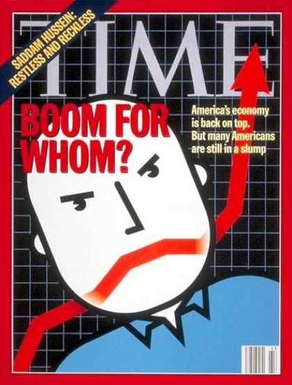 Time - Poverty in Boom Times - Oct. 24, 1994 - Poverty - Economy - Society - Social Iss