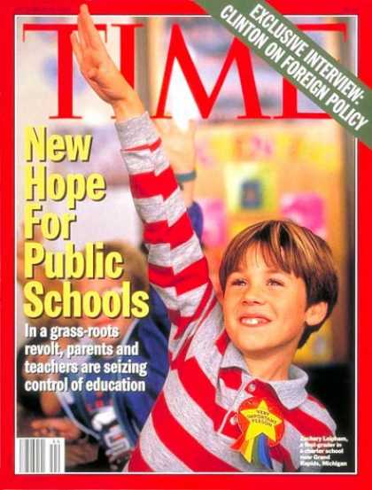 Time - New Hope for Public Schools - Oct. 31, 1994 - Children - Education - Schools