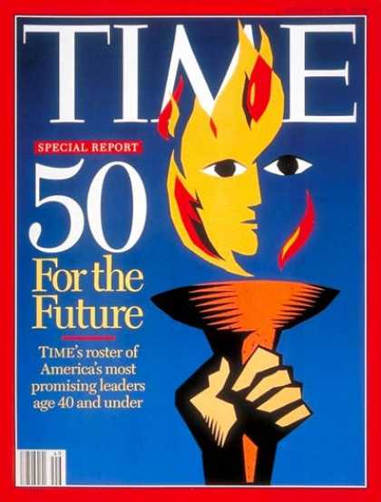 Time - 50 Leaders for America's Future - Dec. 5, 1994 - Society