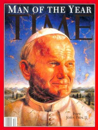 newt gingrich man of the year. time magazine newt gingrich man of the year. Time - Pope John Paul II,
