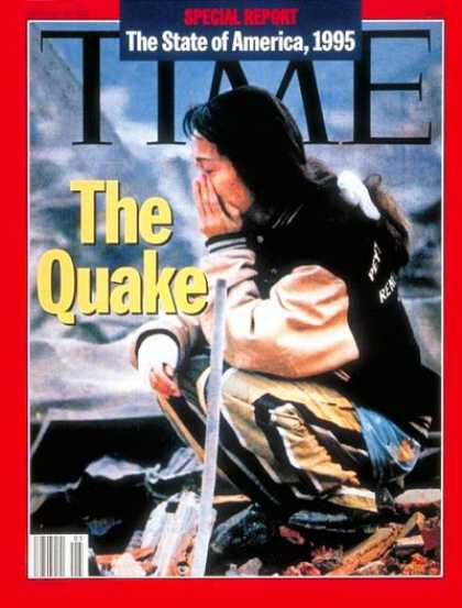 Time - Earthquake in Japan - Jan. 30, 1995 - Natural Disasters - Earthquakes - Japan -