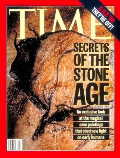 Time - Stone Age Paintings - Feb. 13, 1995 - History - Art