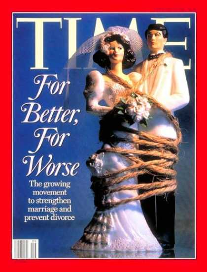 Time - Strengthening Marriages - Feb. 27, 1995 - Family - Marriage
