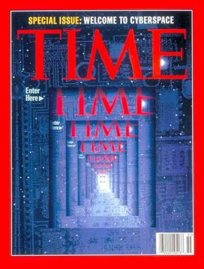 Time - Cyberspace - Mar. 1, 1995 - Internet - Computers - Science & Technology