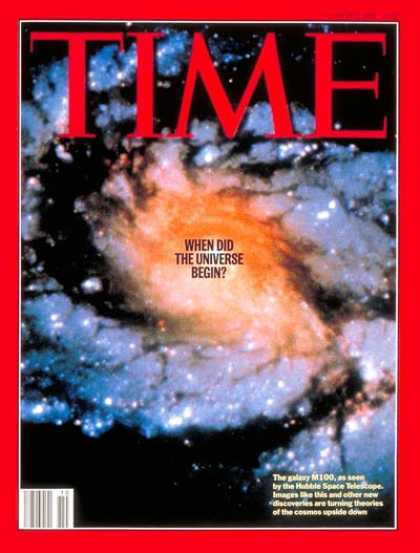 Time - When Did the Universe Begin? - Mar. 6, 1995 - Environment - Science & Technology