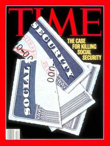 Time - Social Security - Mar. 20, 1995 - Retirement