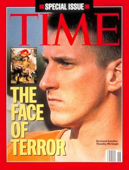 Time - Timothy McVeigh - May 1, 1995 - Crime - Oklahoma City - Terrorism