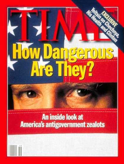 Time - Right-Wing Zealots - May 8, 1995 - Religion