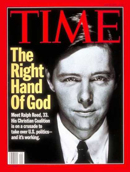 Time - Ralph Reed - May 15, 1995 - Religion