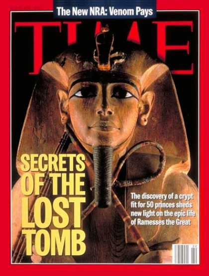 Time - Ramesses II - May 29, 1995 - Egypt - History - Archaeology