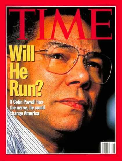 Time - Colin Powell - July 10, 1995 - Politics