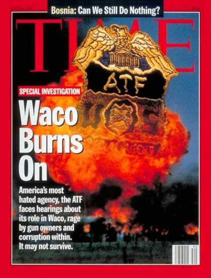 Time - Legacy of Waco - July 24, 1995 - Religion - Cults - David Koresh