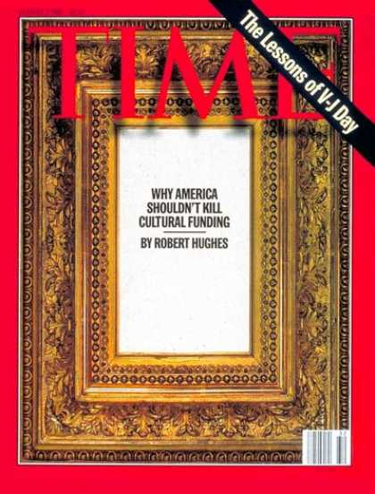Time - Cultural Funding - Aug. 7, 1995 - Society - Politics